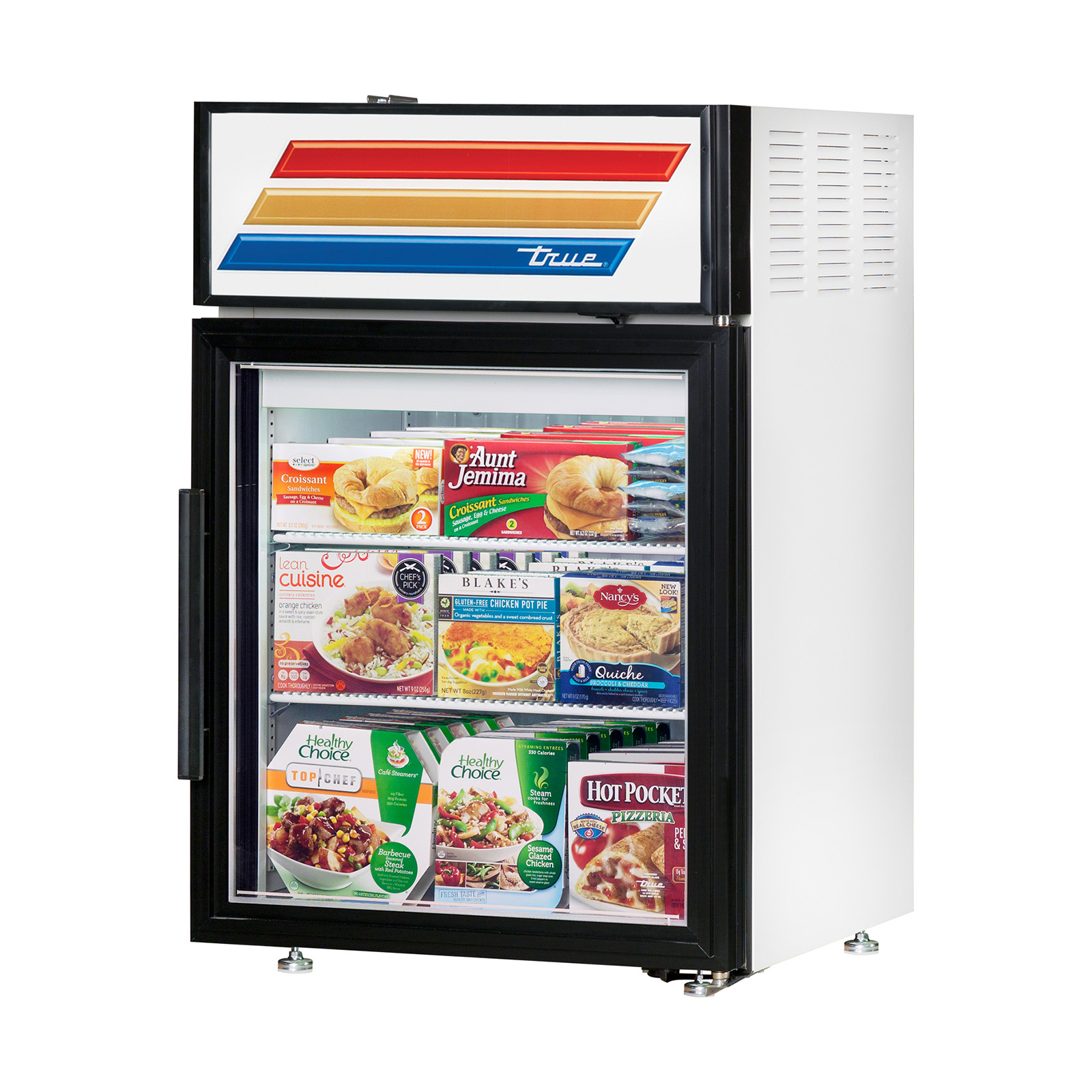 Display Case Freezer Countertop