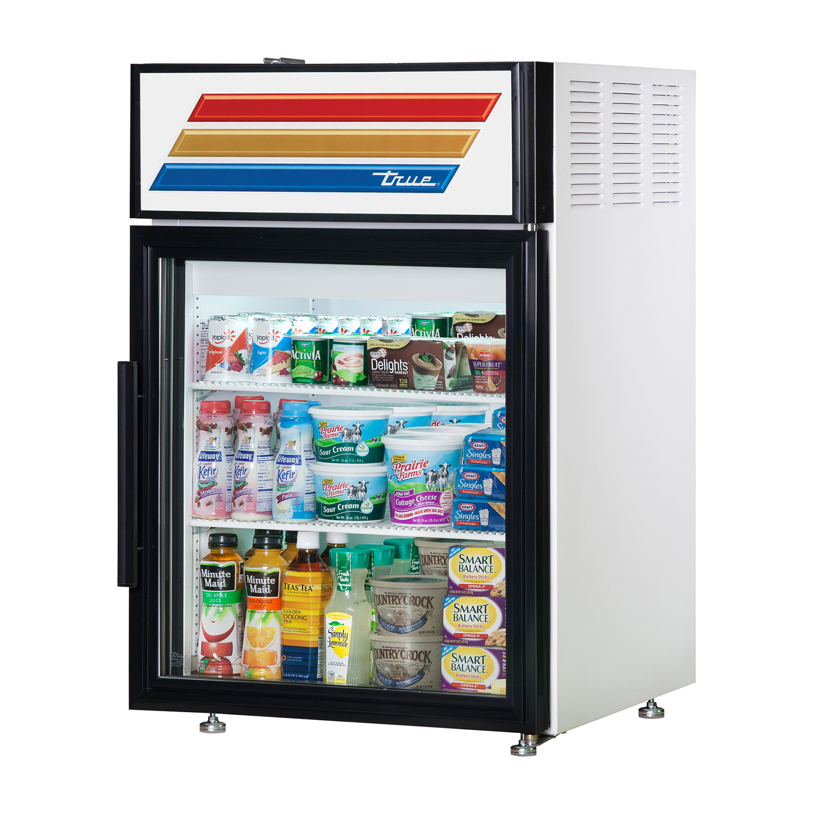 GDM-05-LD True - Countertop Refrigerated Merchandiser (2) shelves