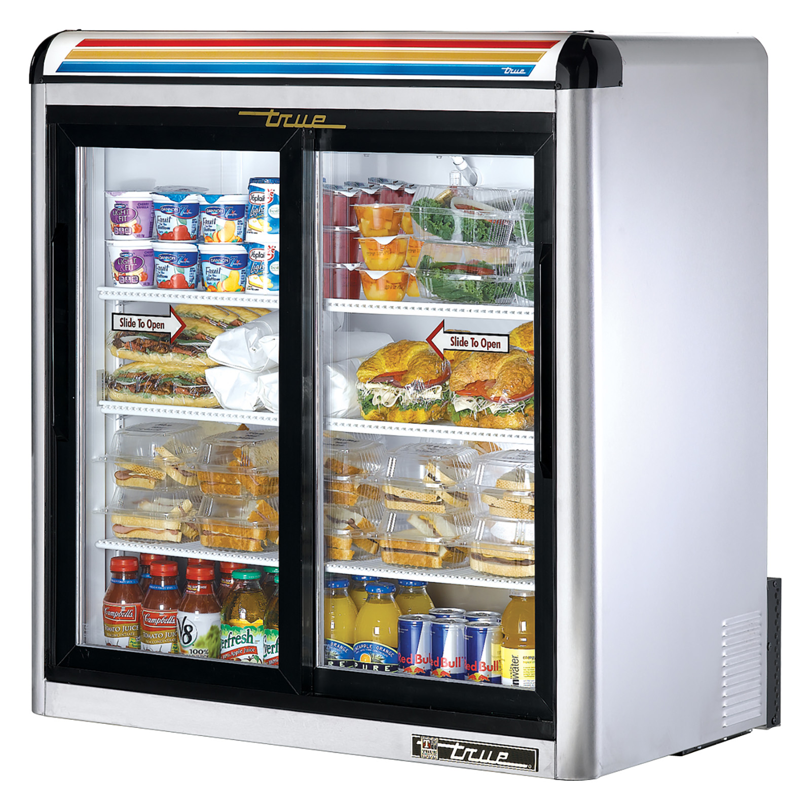 GDM-09-S-LD True - Countertop Refrigerated Merchandiser (2-1/2) shelves