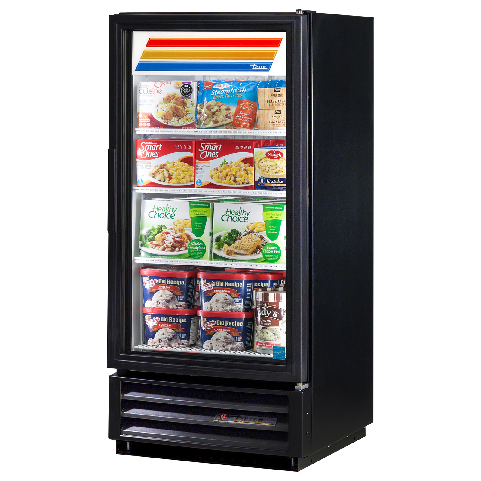 GDM-10F-LD True - Freezer Merchandiser one-section