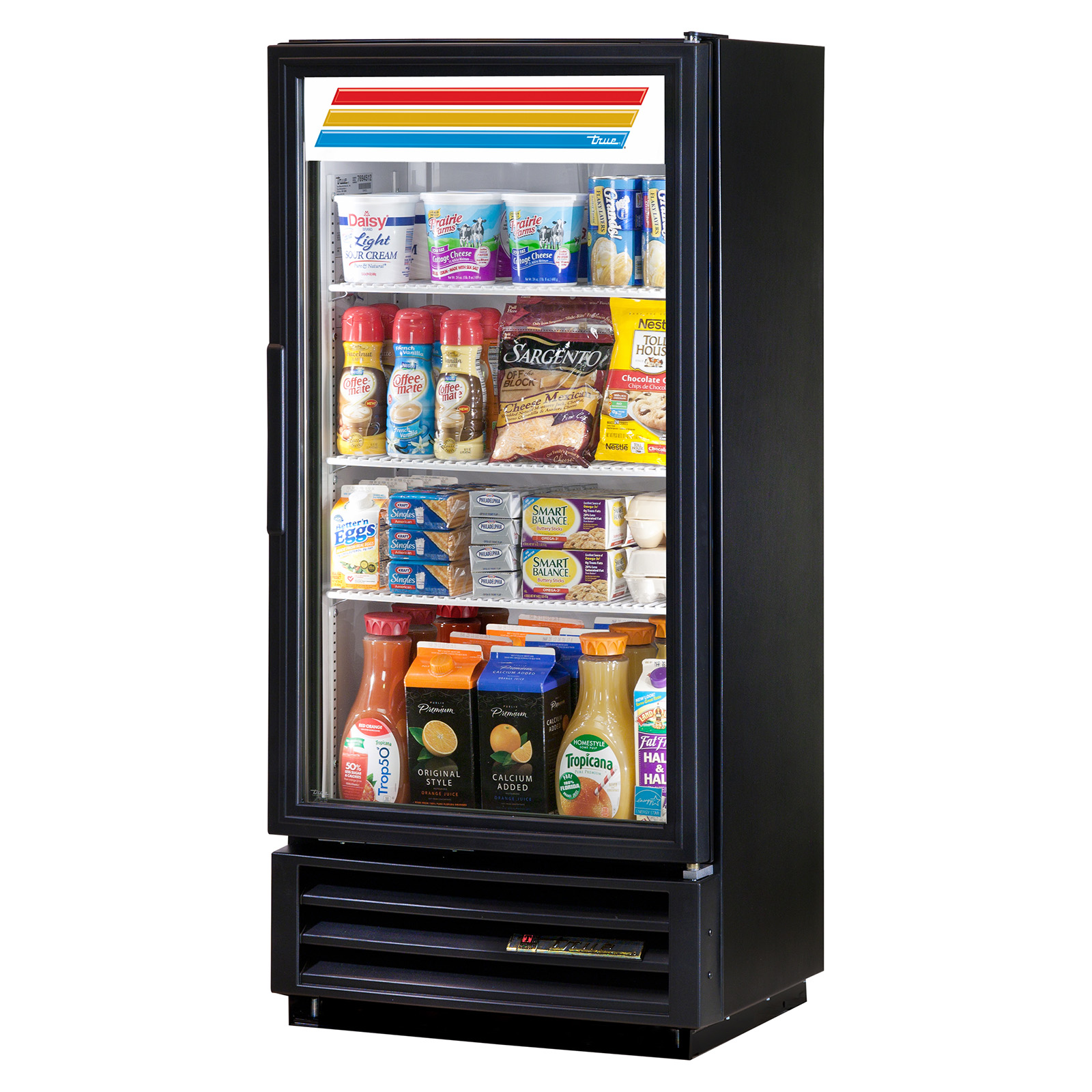 GDM-10SSL-LD True - Refrigerated Merchandiser one-section
