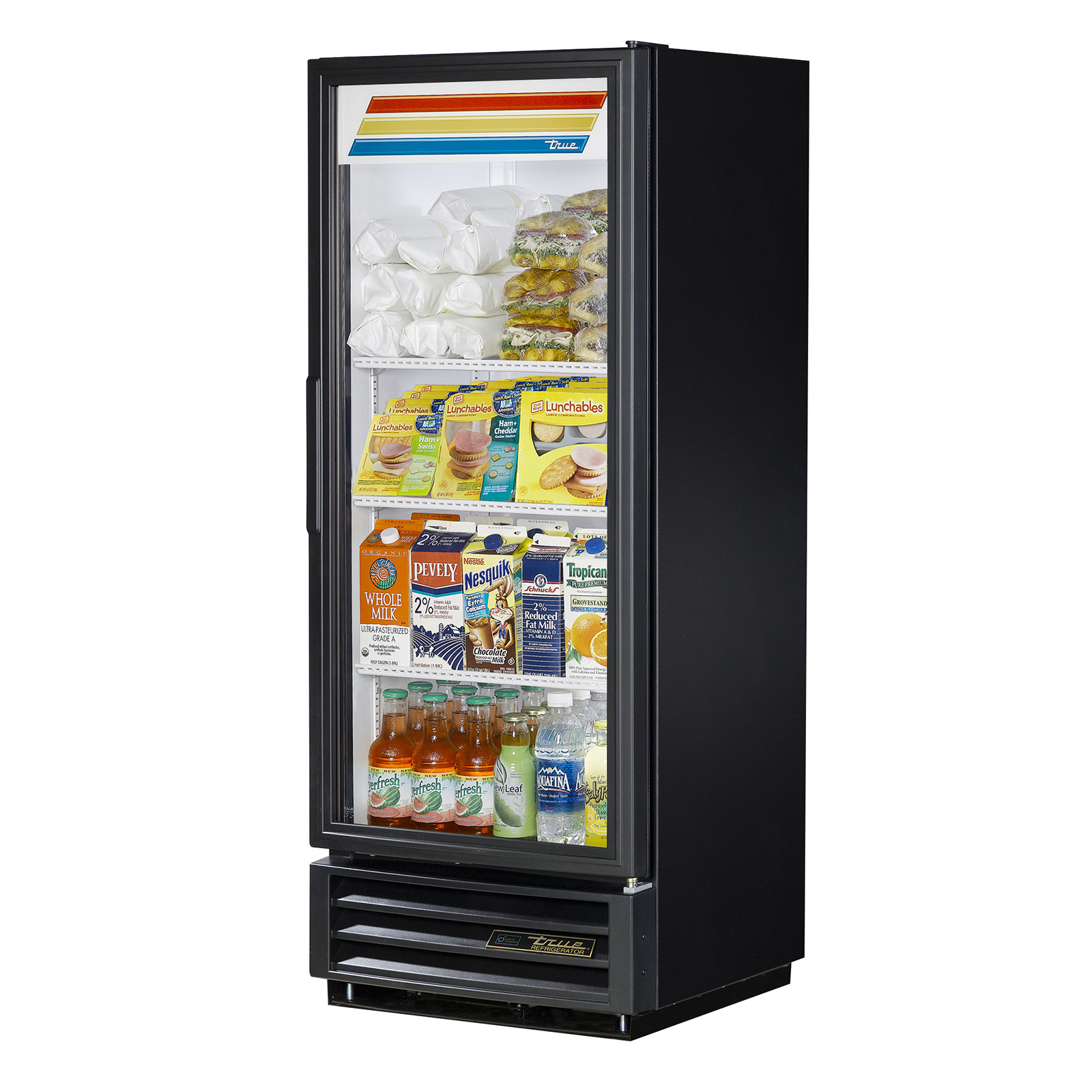 GDM-12-HC-LD True - Refrigerated Merchandiser one-section