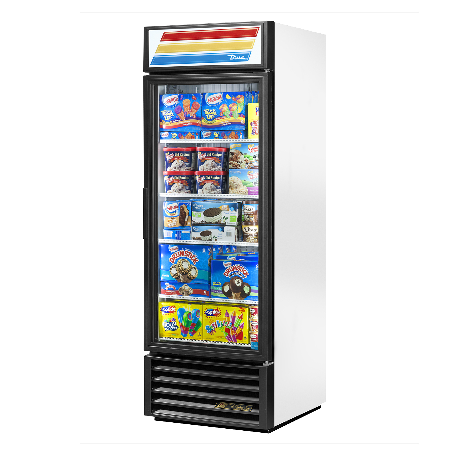 GDM-23F-LD True - Freezer Merchandiser one-section