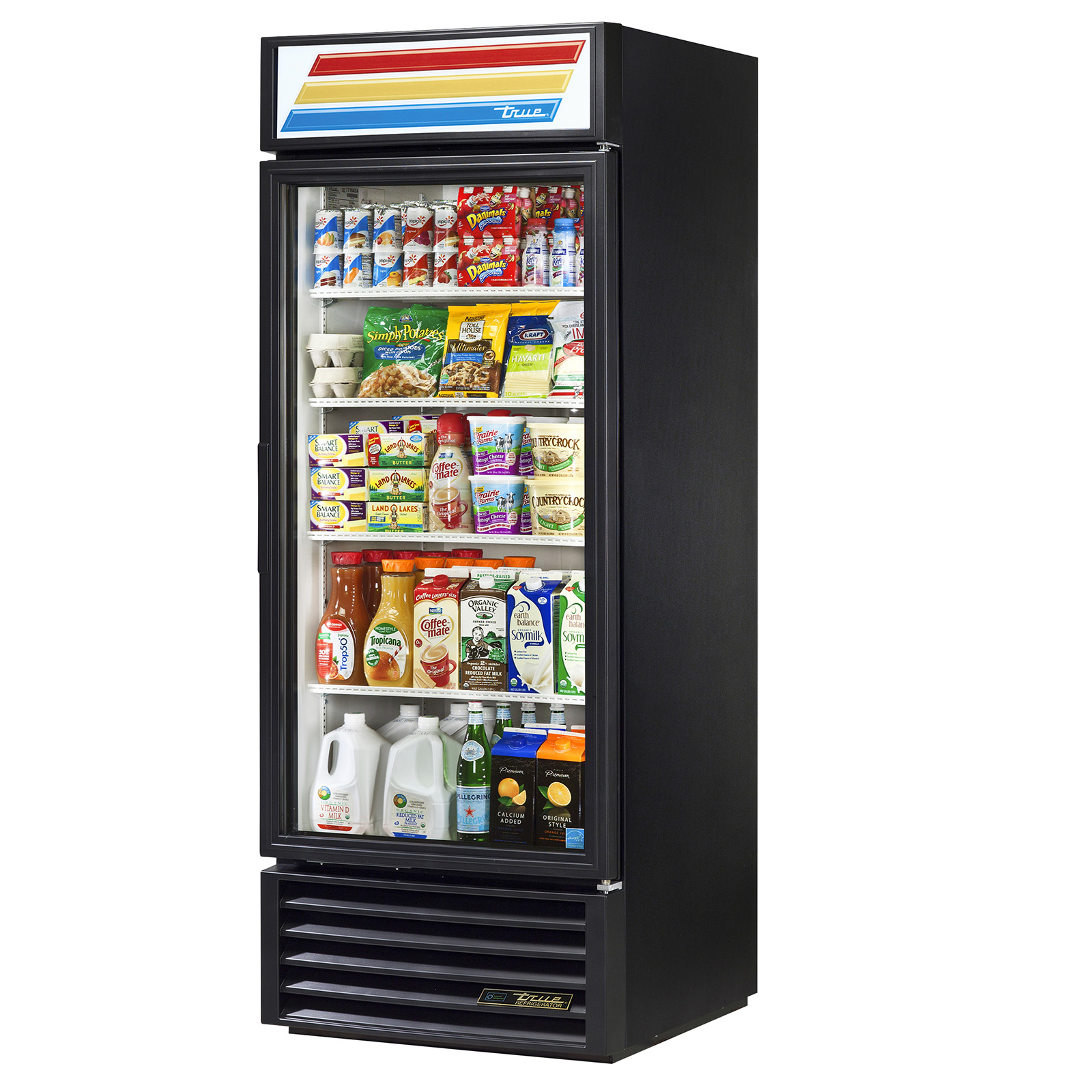 GDM-26-HC-LD True - Refrigerated Merchandiser one-section