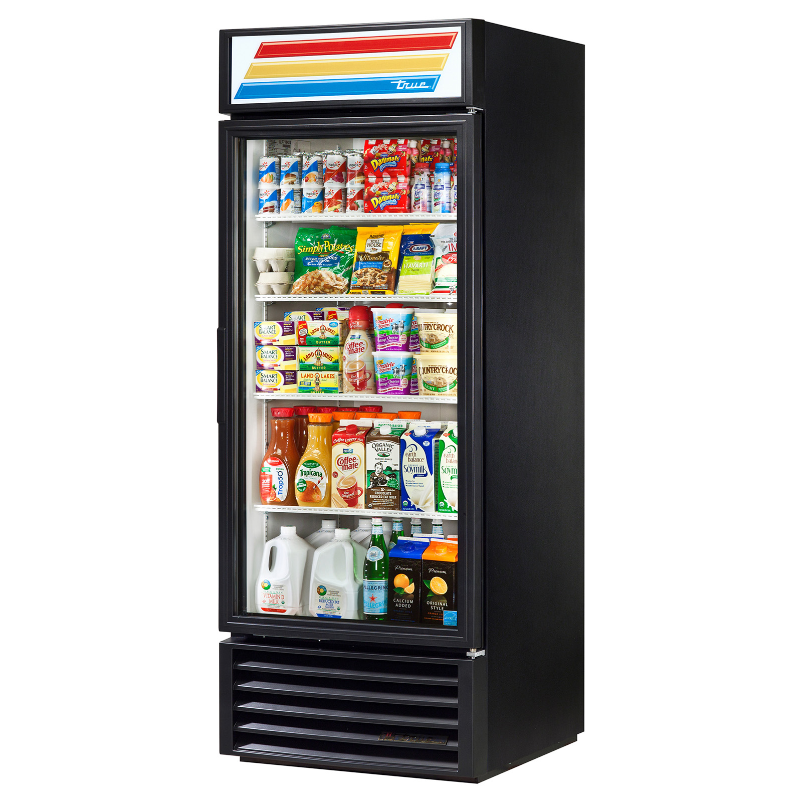 GDM-26-LD True - Refrigerated Merchandiser one-section