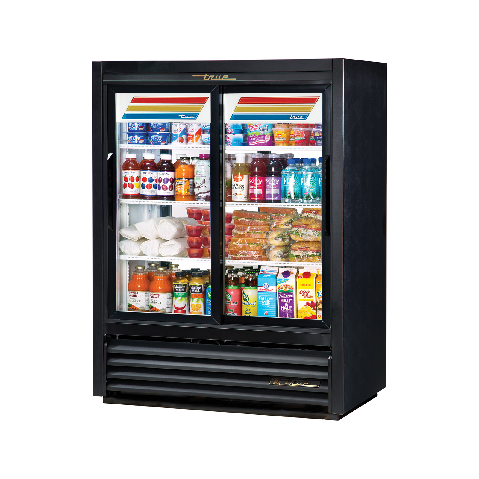 GDM-33CPT-54-LD True - Convenience Store Cooler Pass-thru