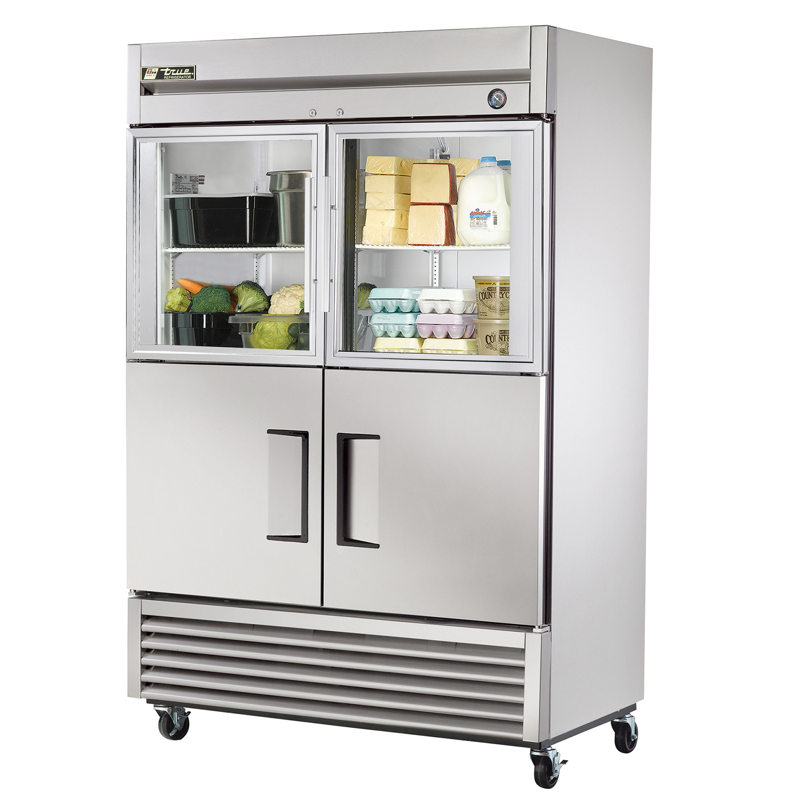 Restaurant Kitchen Refrigerator t-49-2-g-2 true - refrigerator reach-in