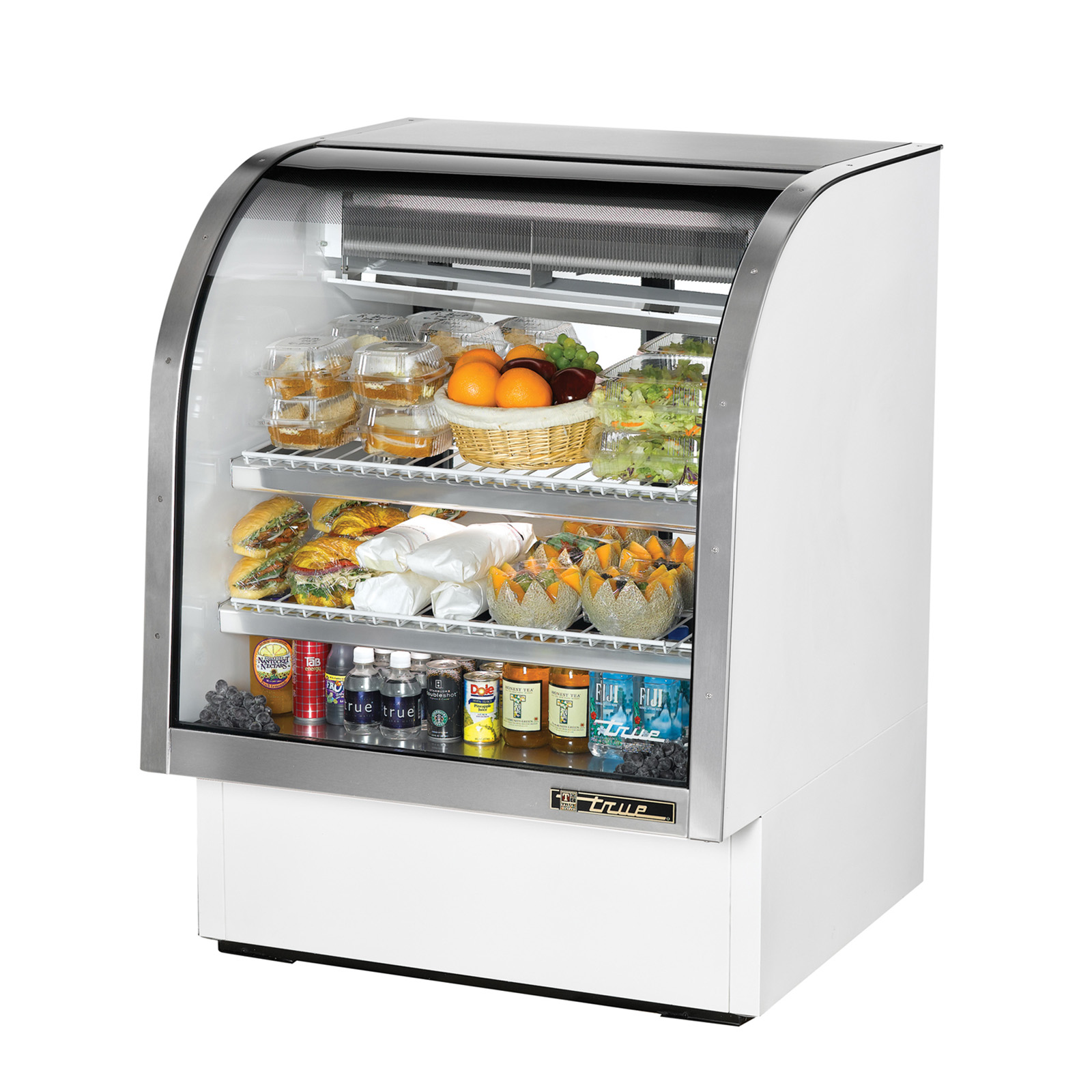 TCGG-36 True - Curved Glass Deli Case 36-1/4