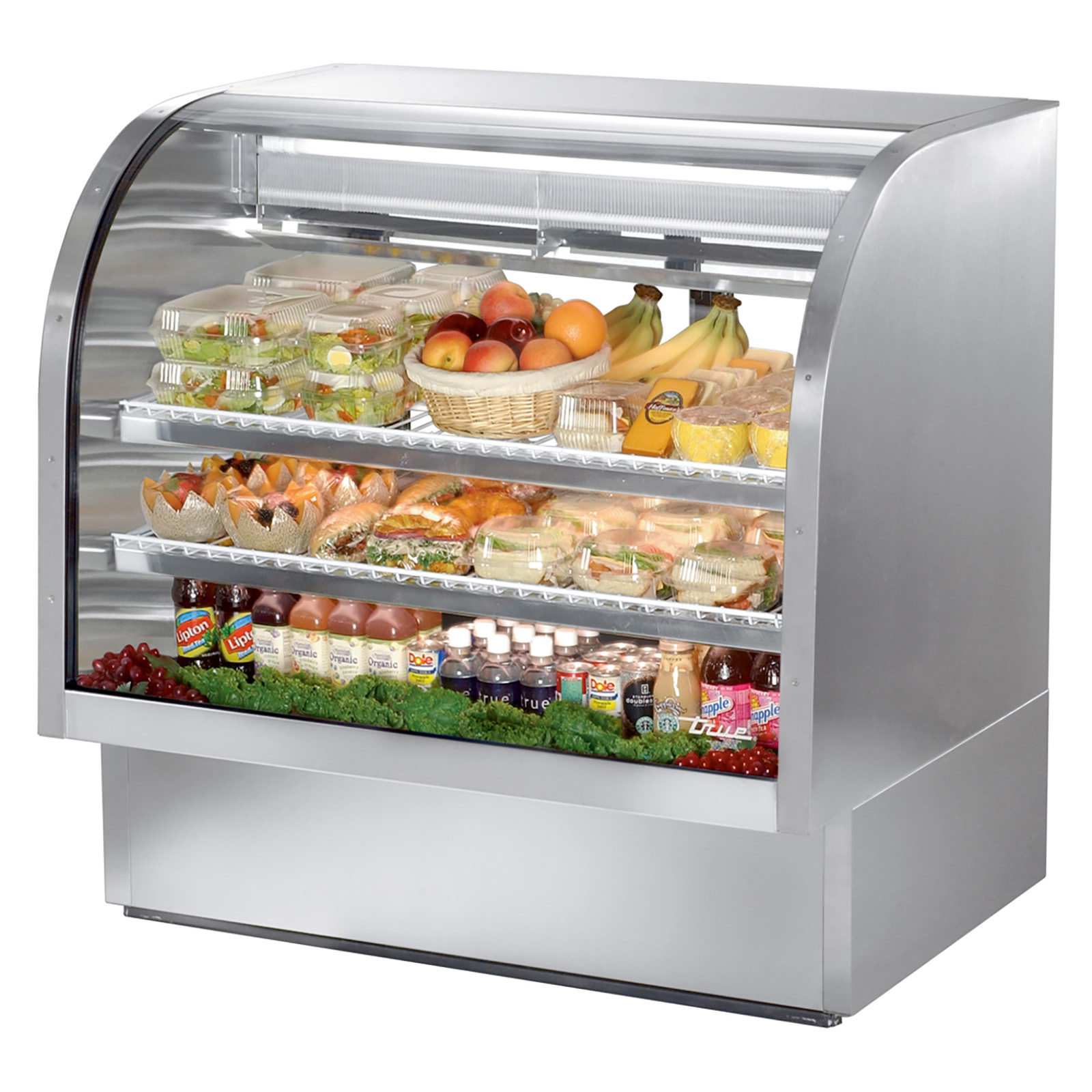 TCGG-48-S True - Curved Glass Deli Case 48-1/4