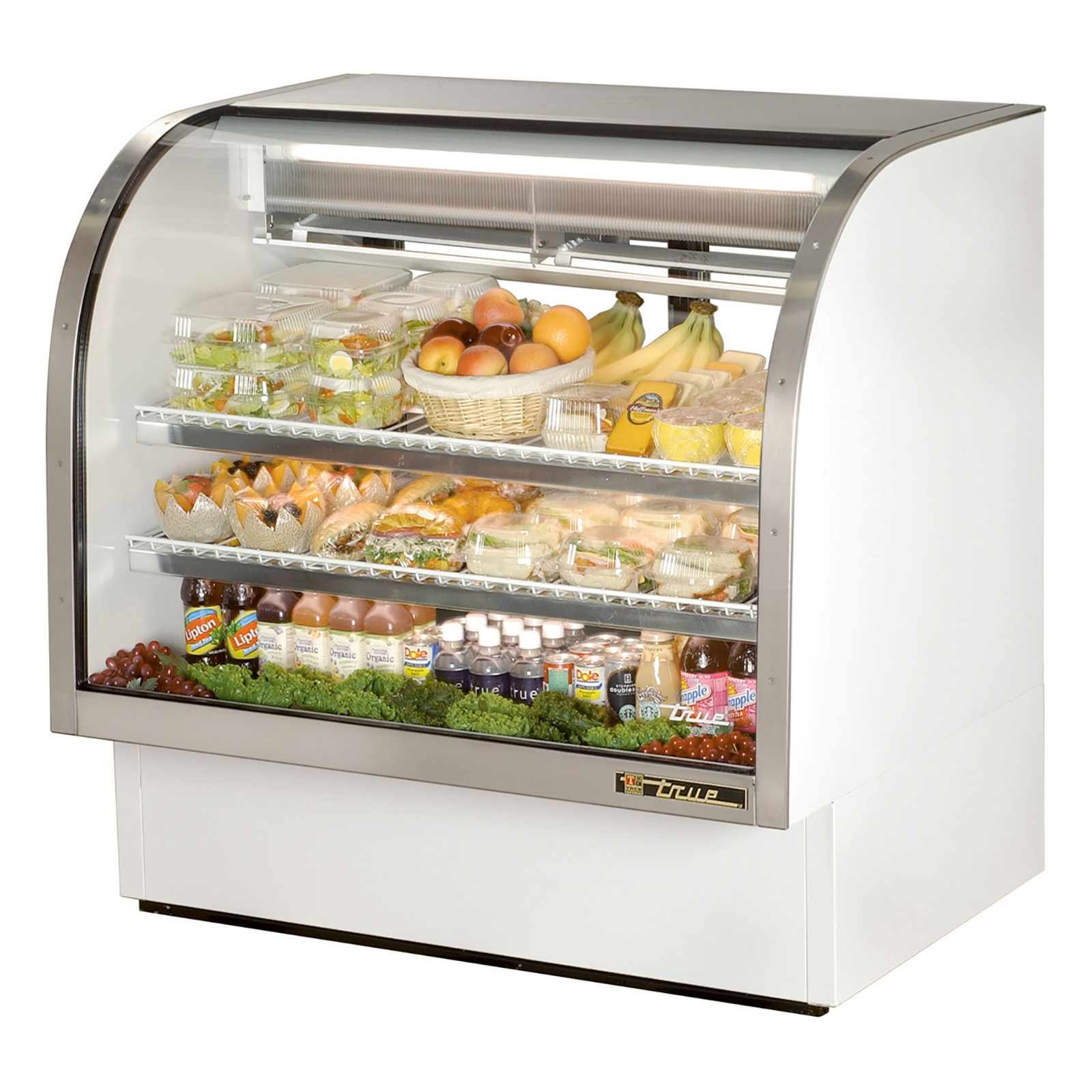 TCGG-48 True - Curved Glass Deli Case 48-1/4