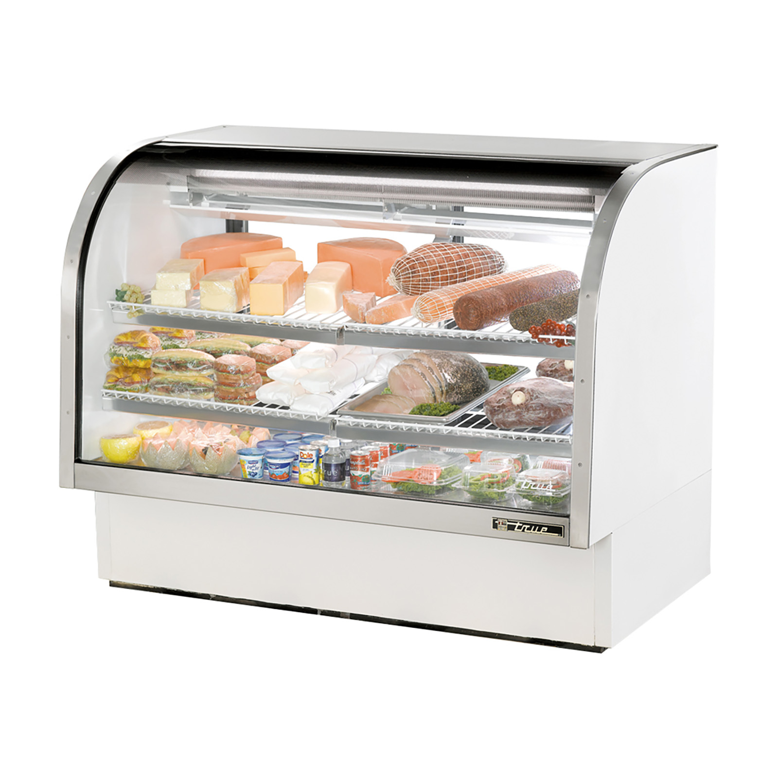 TCGG-60 True - Curved Glass Deli Case 60-1/4