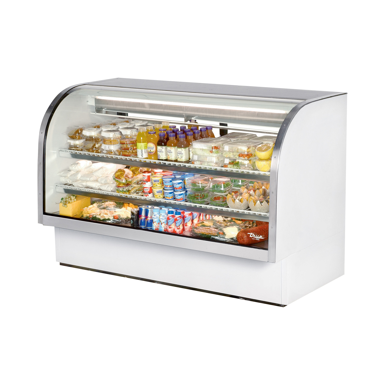 TCGG-72 True - Curved Glass Deli Case 72-1/8
