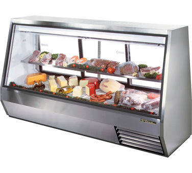 TDBD-96-3 True - Double Duty Deli Case see-thru