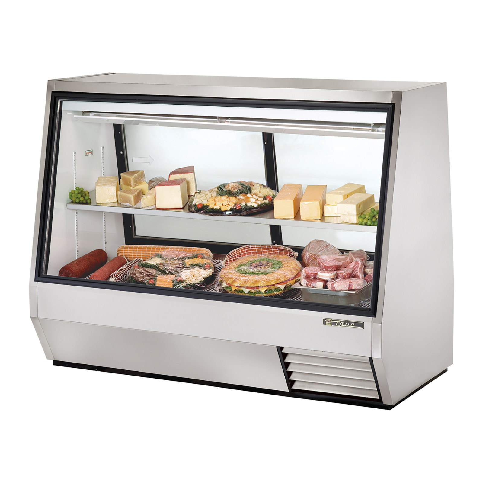TDBD-72-2 True - Double Duty Deli Case see-thru