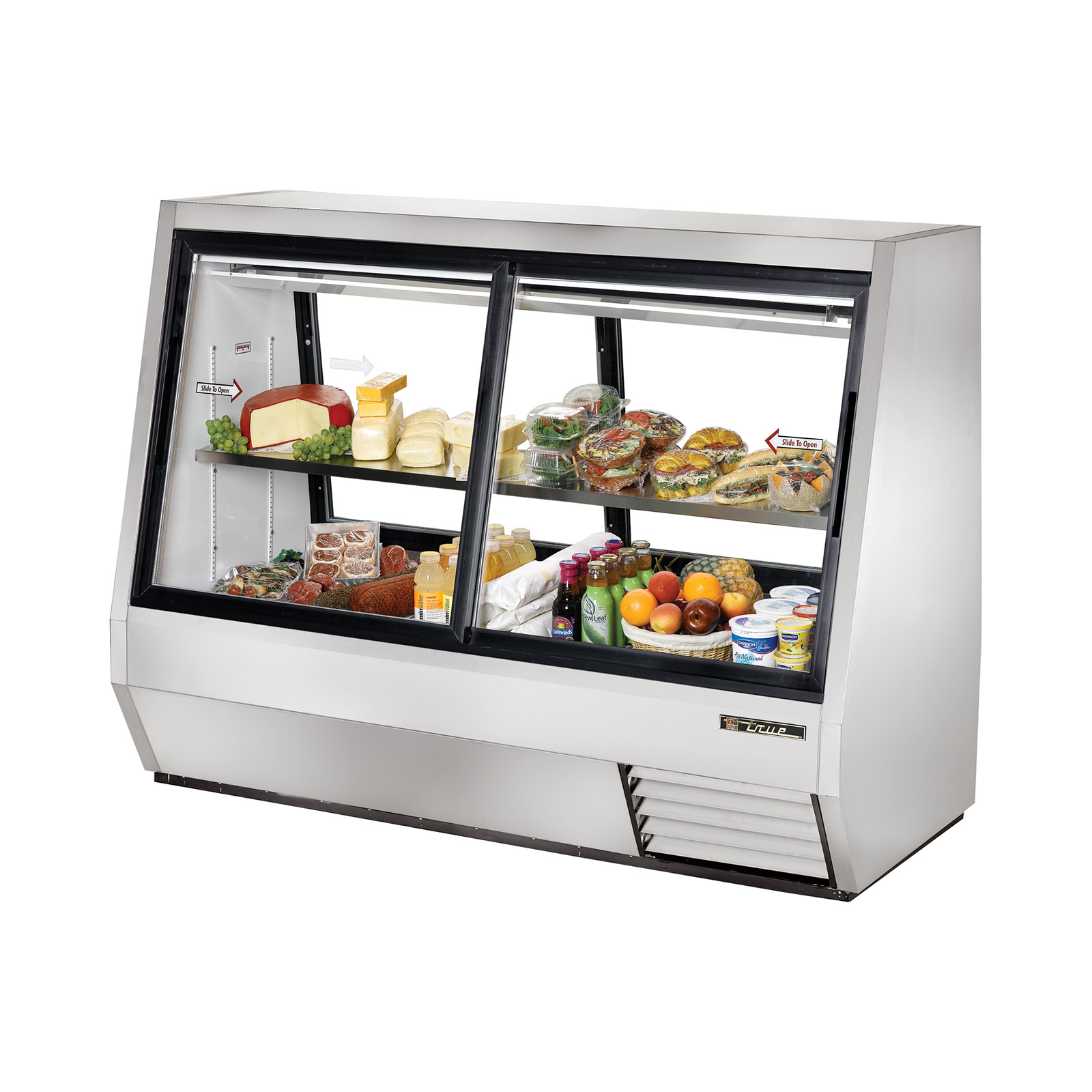 TDBD-72-4 True - Double Duty Deli Case Pass-thru