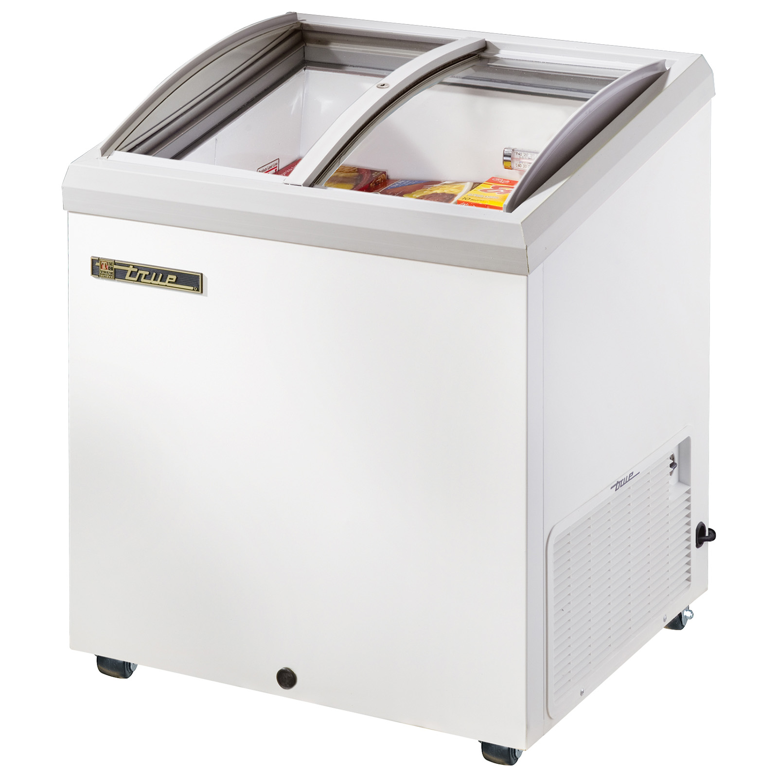 TFM-29AL True - Horizontal Freezer -10? holding temp.