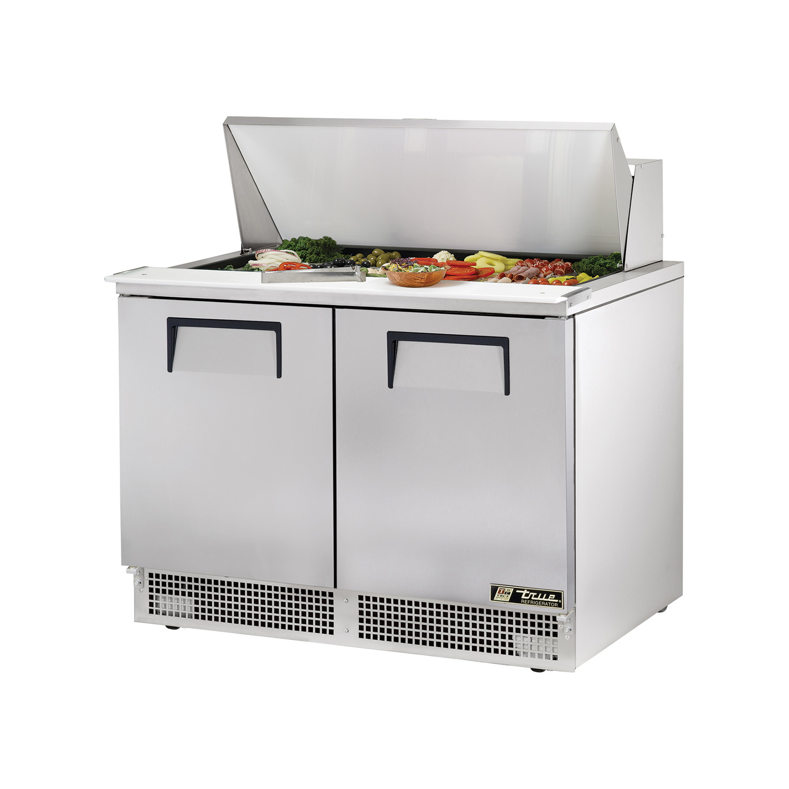 TFP-48-18M True - Sandwich/Salad Unit two section