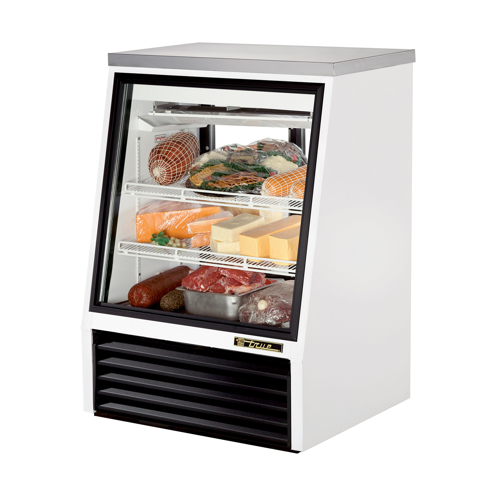 TSID-36-2 True - Single Duty Deli Case see-thru