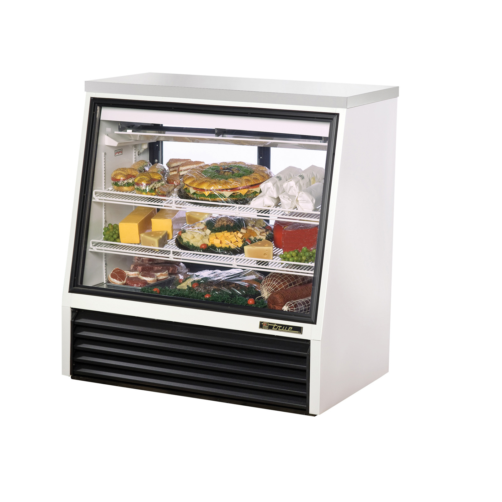 TSID-48-2 True - Single Duty Deli Case see-thru