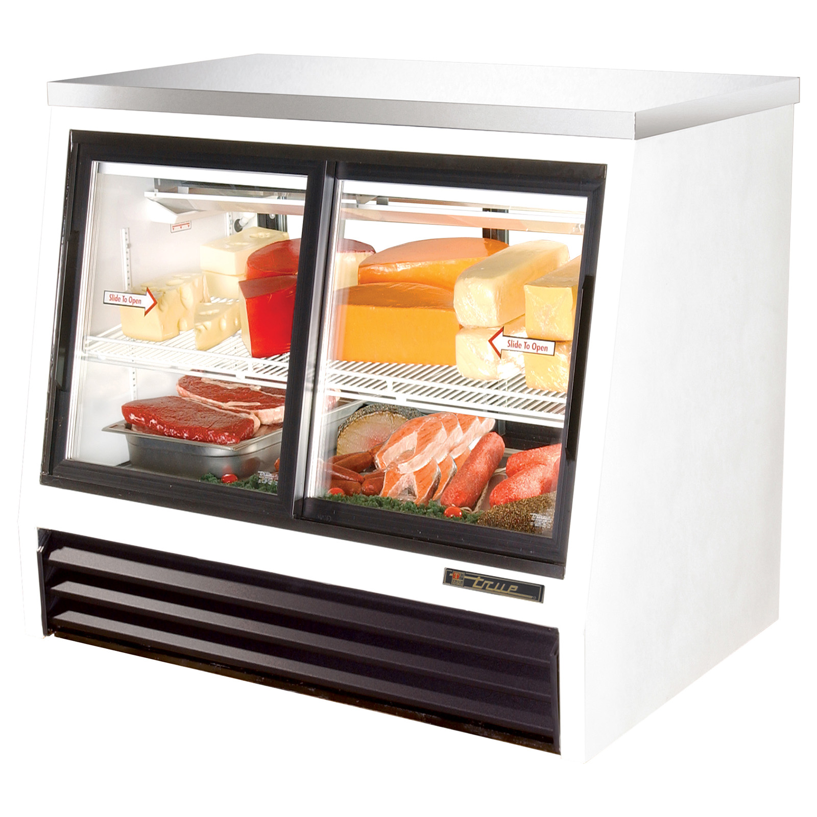 TSID-48-4-L True - Counter-Height Deli Case Pass-thru