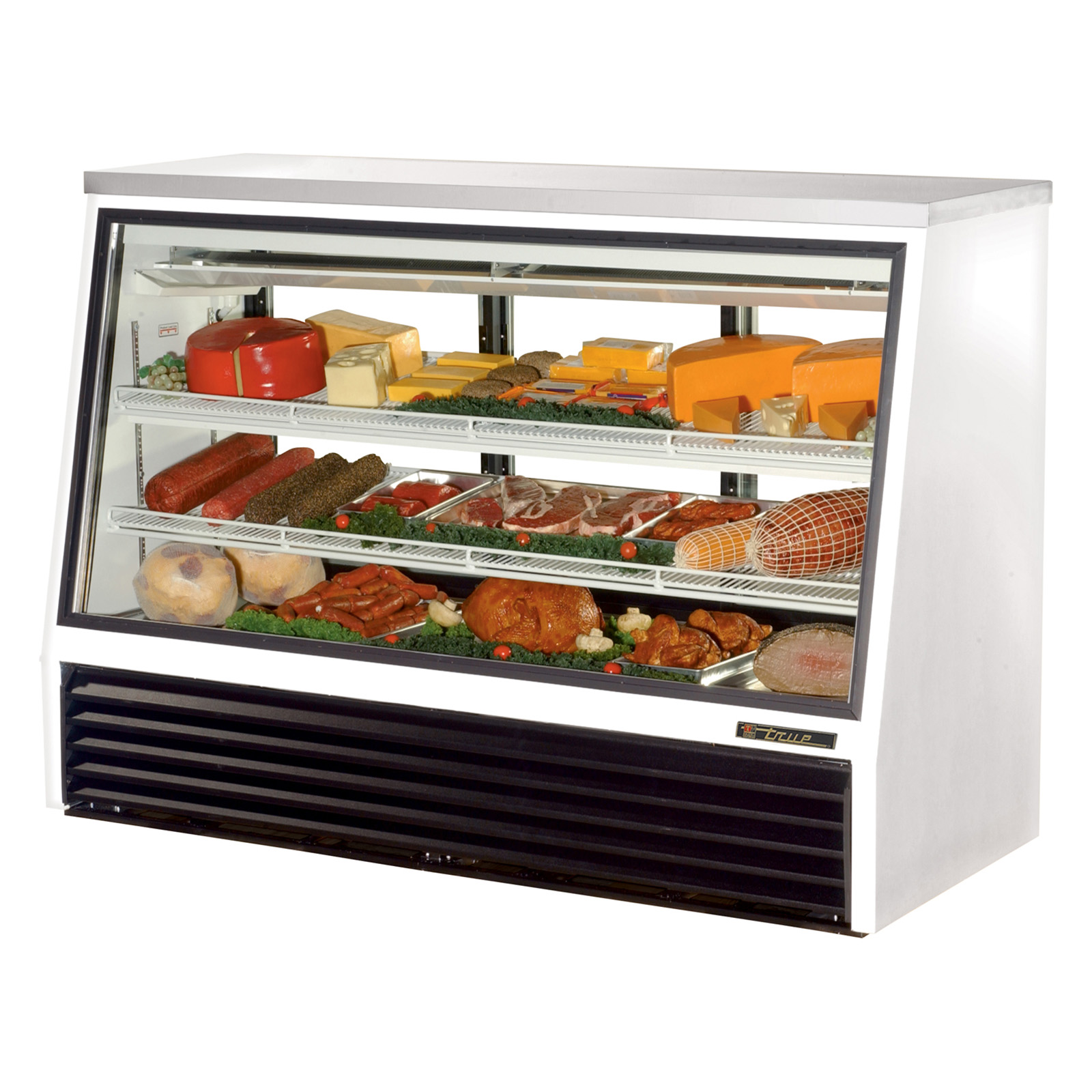 TSID-72-3 True - Single Duty Deli Case see-thru