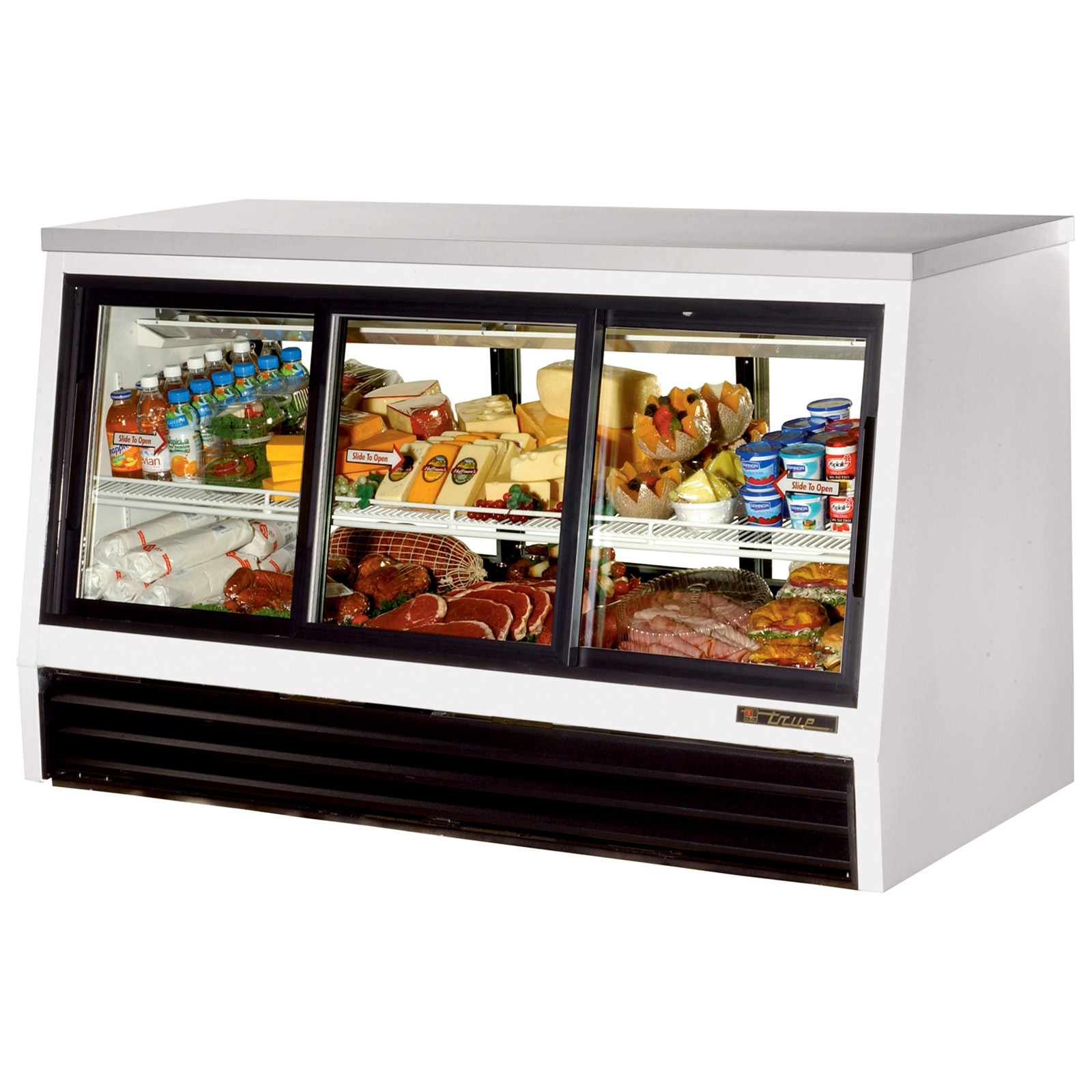 TSID-72-6-L True - Low-Height Deli Case Pass-thru