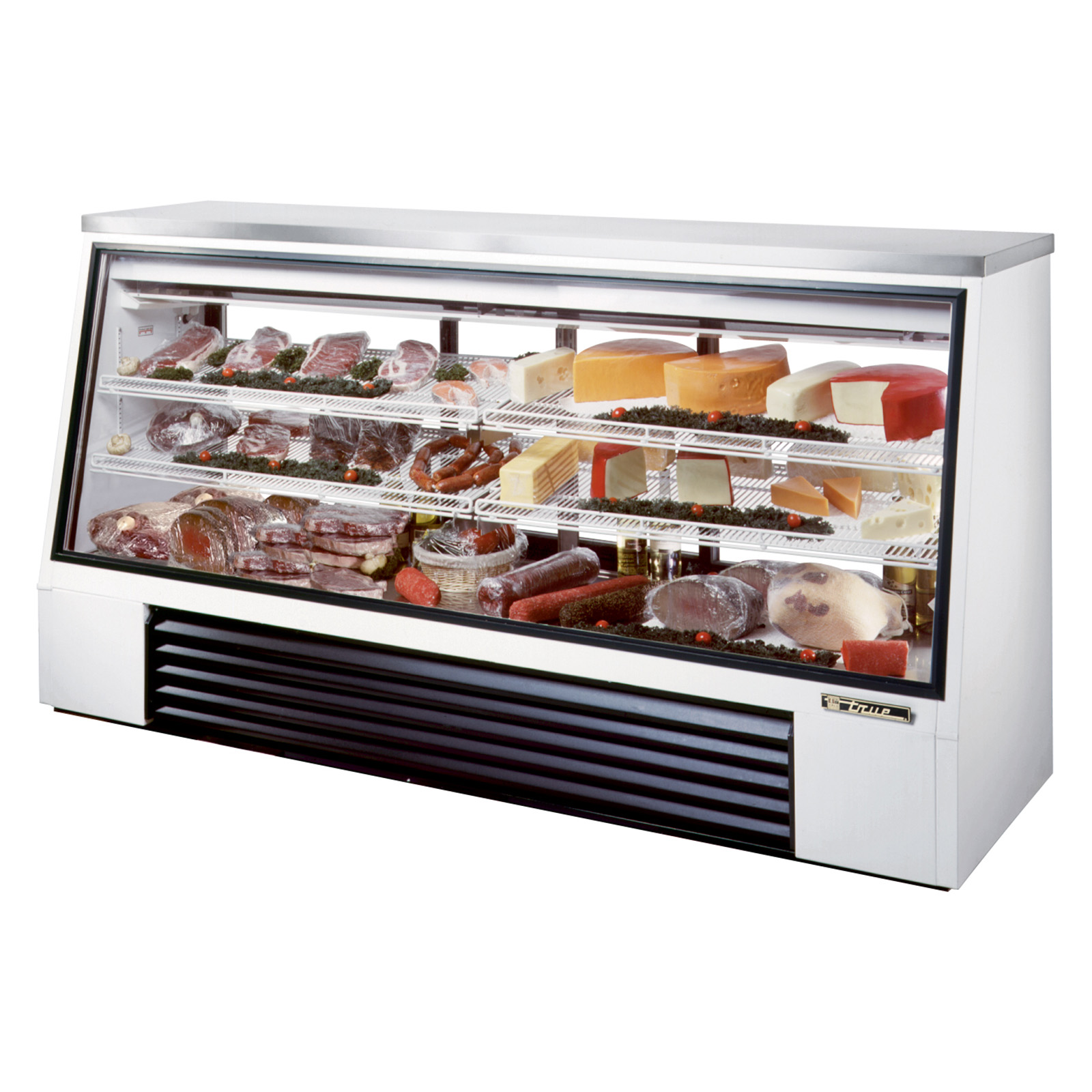 TSID-96-3 True - Single Duty Deli Case see-thru