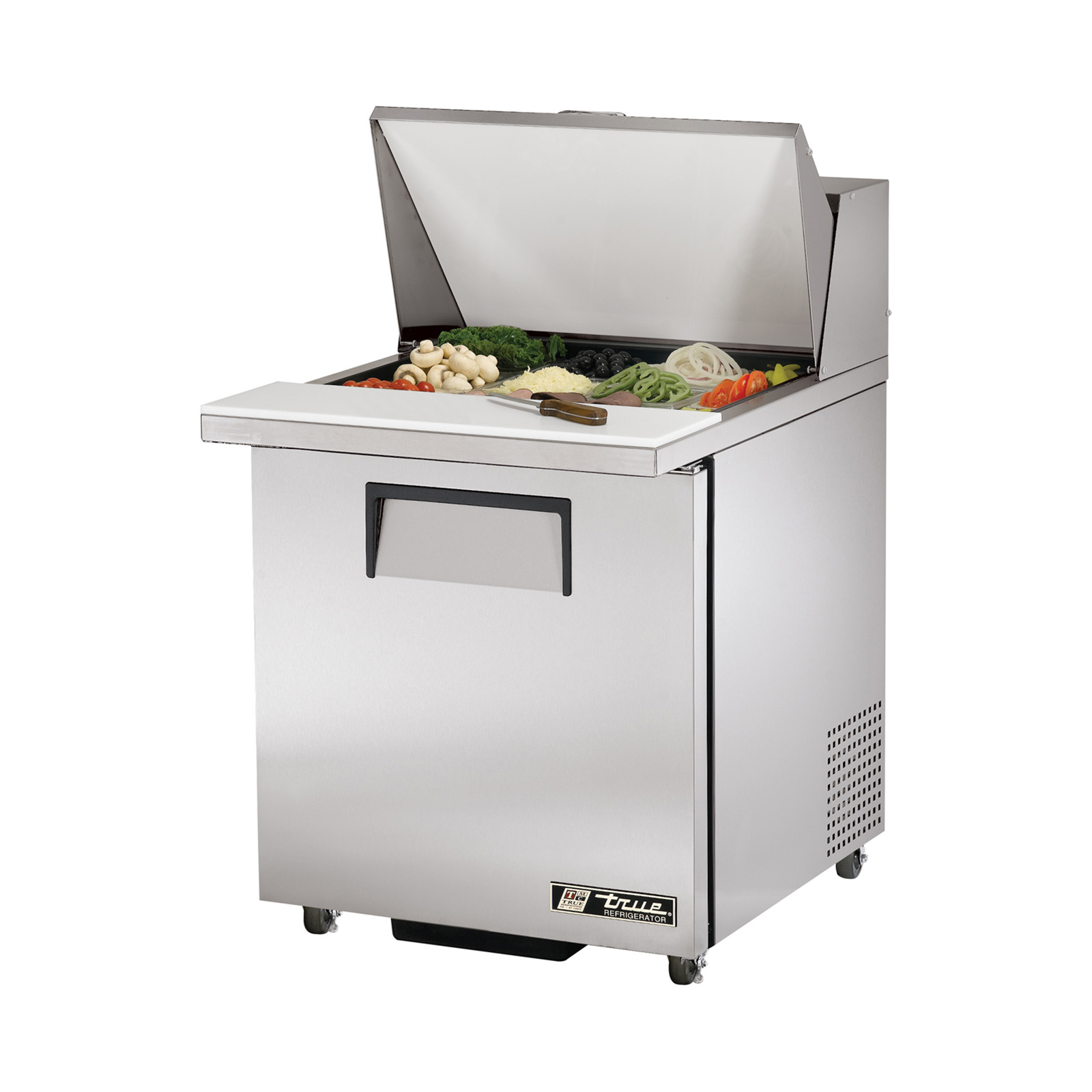 TSSU-27-12M-B-ADA True - ADA Compliant Mega Top Sandwich/Salad Unit (9) 1/6 & (3) 1/9 size (4