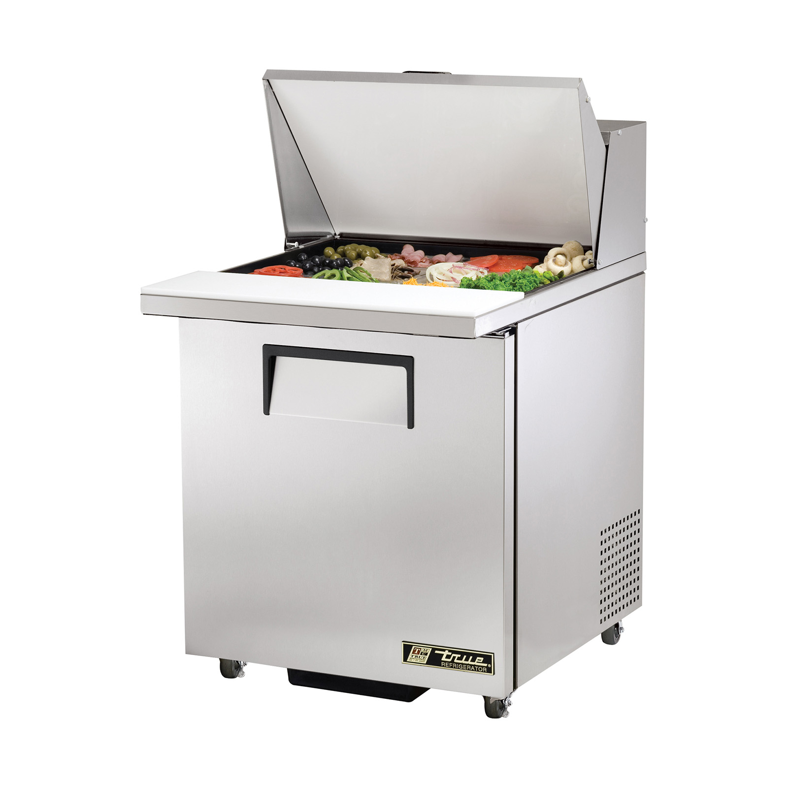 TSSU-27-12M-C-ADA True - ADA Compliant Mega Top Sandwich/Salad Unit (12) 1/6 size (4