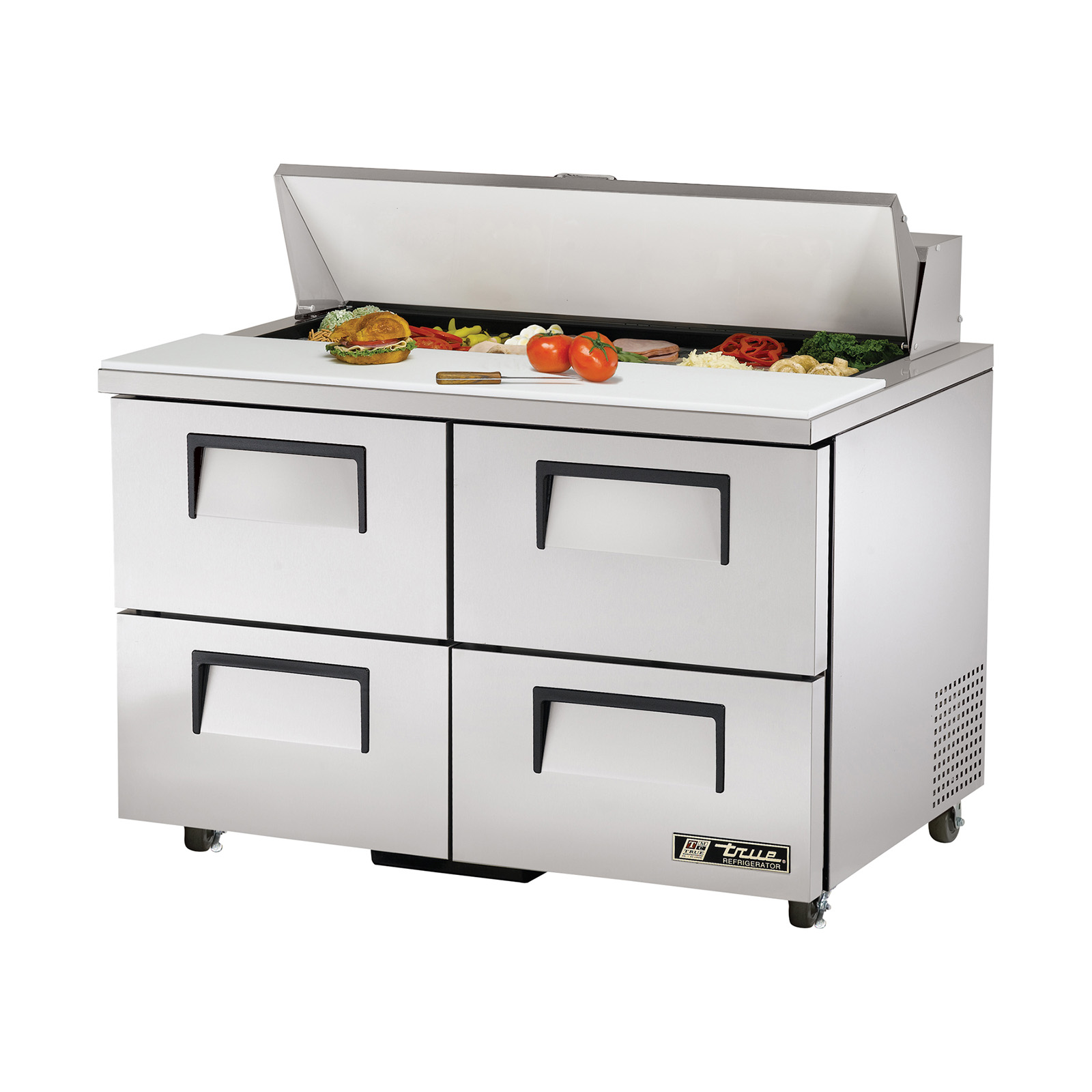TSSU-48-12D-4-ADA True - ADA Compliant Sandwich/Salad Unit (12) 1/6 size (4