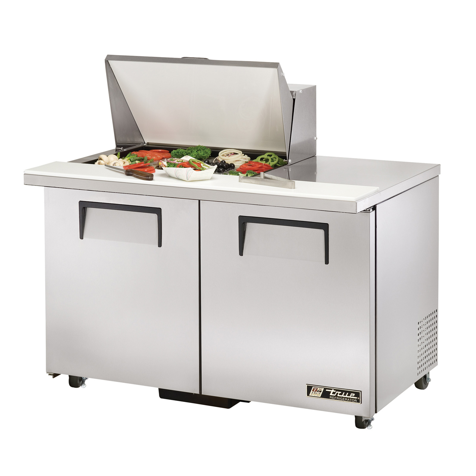 TSSU-48-12M-B-ADA True - ADA Compliant Mega Top Sandwich/Salad Unit (12) 1/6 size (4
