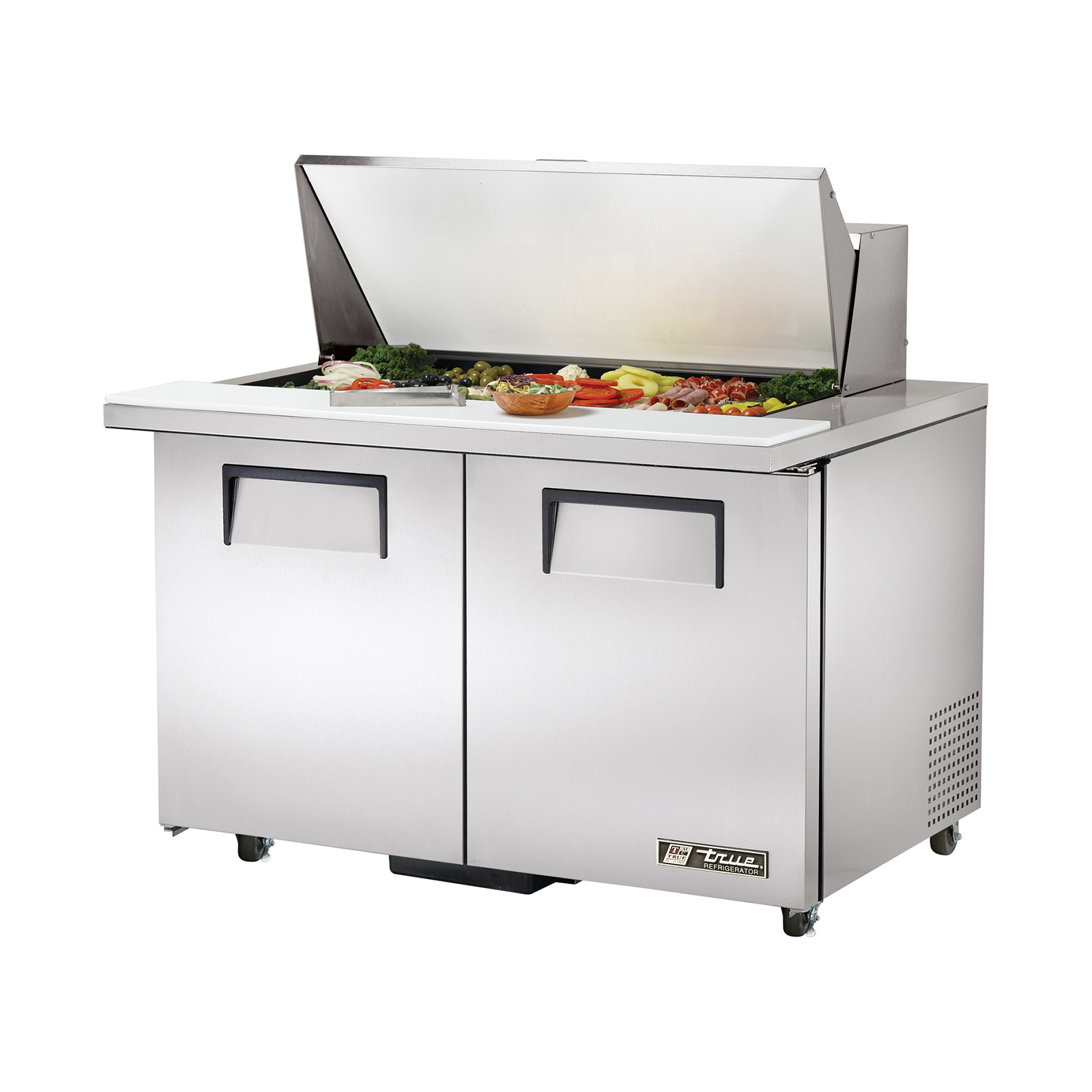 TSSU-48-18M-B-ADA True - ADA Compliant Mega Top Sandwich/Salad Unit (18) 1/6 size (4