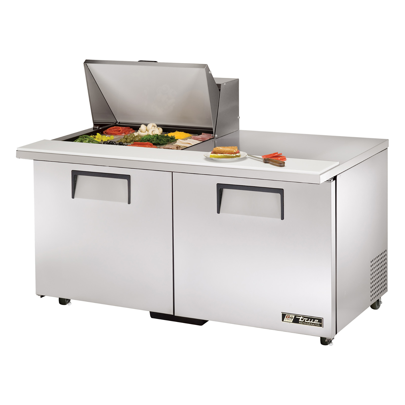 TSSU-60-12M-B-ADA True - ADA Compliant Mega Top Sandwich/Salad Unit (12) 1/6 size (4