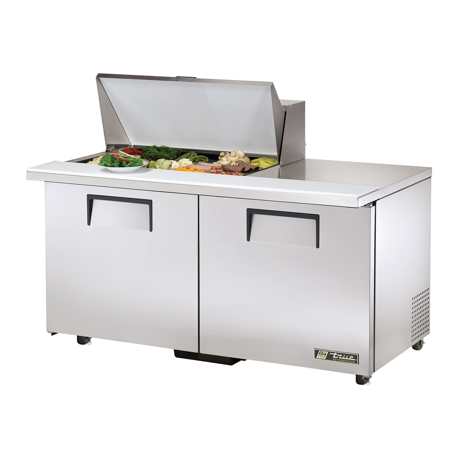 TSSU-60-15M-B-ADA True - ADA Compliant Mega Top Sandwich/Salad Unit (15) 1/6 size (4