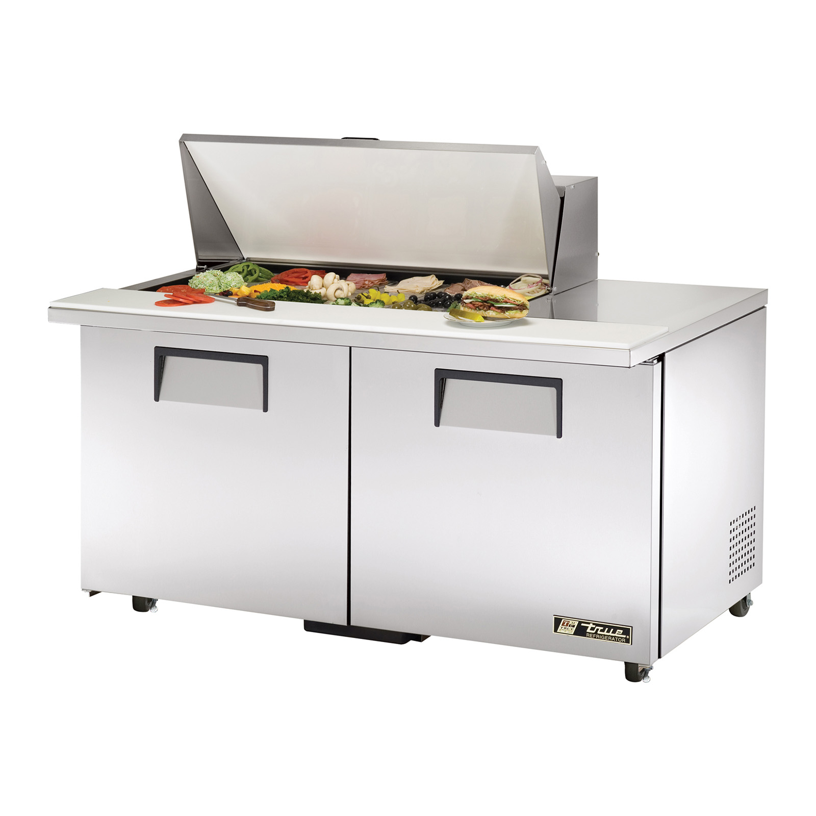TSSU-60-18M-B-ADA True - ADA Compliant Mega Top Sandwich/Salad Unit (18) 1/6 size (4