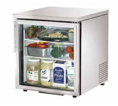 TUC-27G-LP-HC-LD True - Low Profile Undercounter Refrigerator 33-38? F