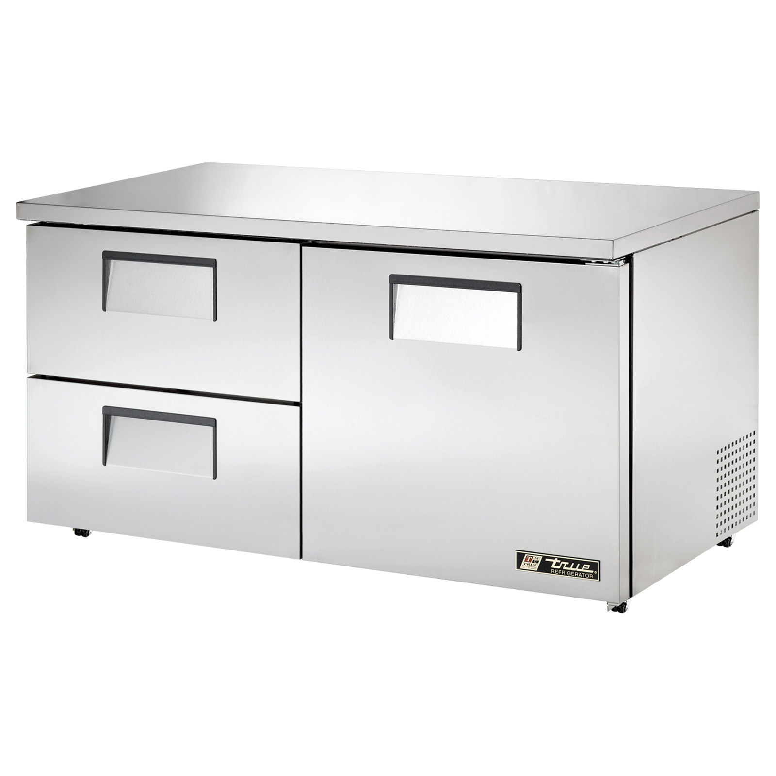 TUC-60D-2-LP True - Low Profile Undercounter Refrigerator 33-38? F