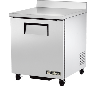 TWT-27F-HC True - Work Top Freezer one-section