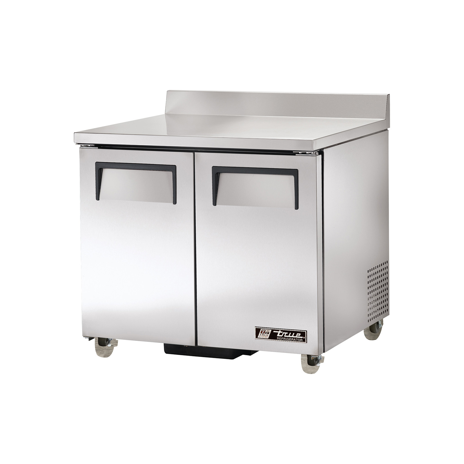 TWT-36-ADA True - ADA Compliant Work Top Refrigerator two-section