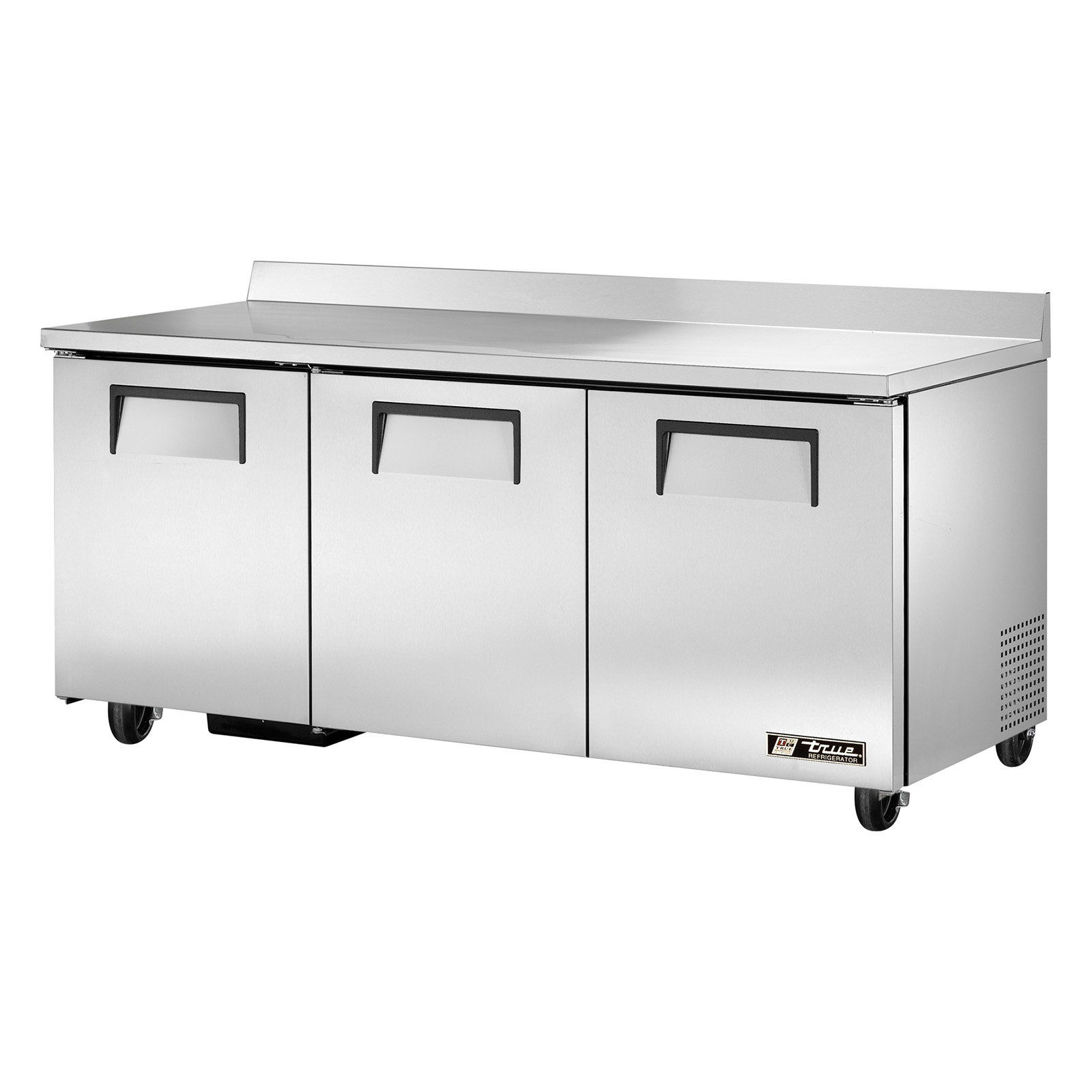 TWT-72 True - Work Top Refrigerator three-section