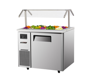 JBT-36 - J Series Refrigerated Buffet Table-side mount