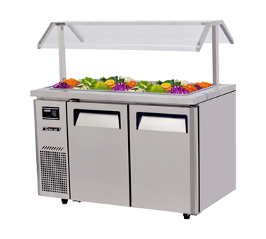 JBT-48 - J Series Refrigerated Buffet Table-side mount