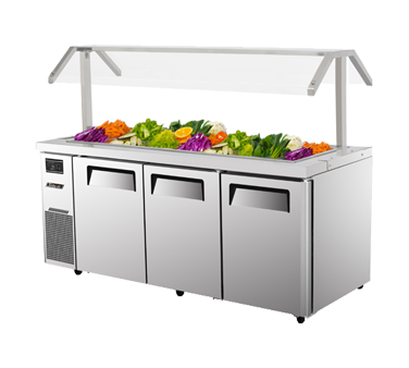JBT-72 - J Series Refrigerated Buffet Table-side mount