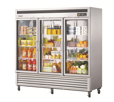 MSR-72G-3 - Super Deluxe Glass Door Refrigerator