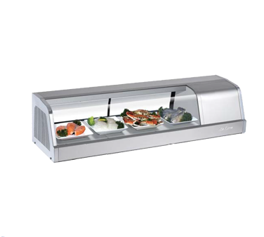 Display Case, Refrigerated Sushi