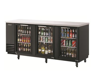 TBB-4SG - Back Bar Cooler