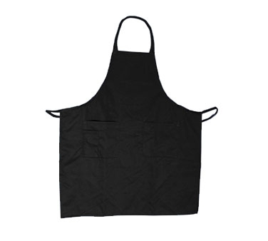 BAP-BK Update International - Bib Apron Cotton Twill Black
