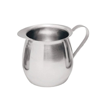 BC-8 Update International - Bell Creamer, 8 oz., 0.65 mm thick stainless steel