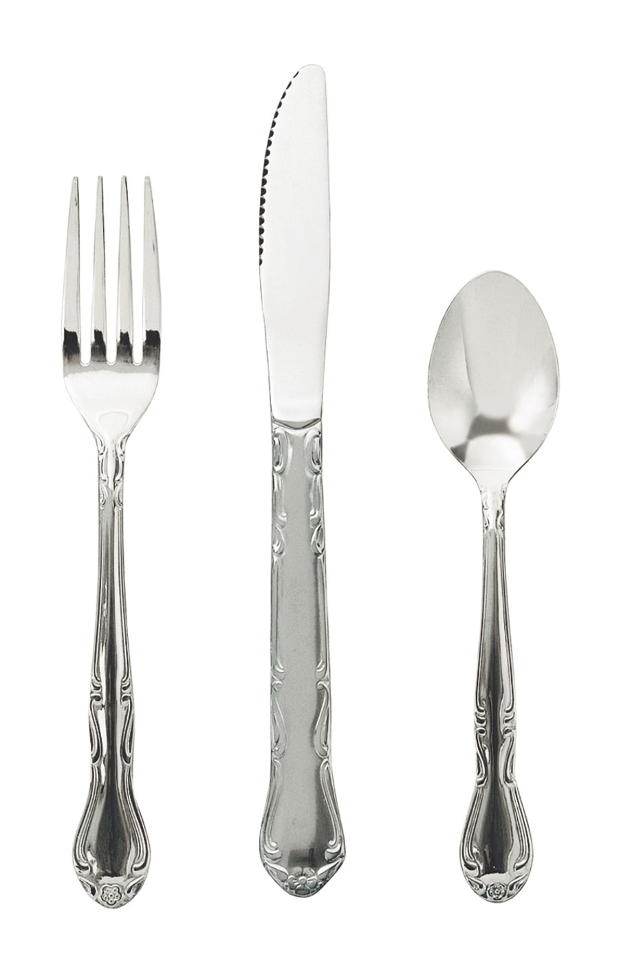 CE-206 Update International - Salad Fork, 18/0 stainless steel, bright polish