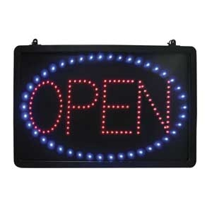 LED-OPEN Update International - LED Sign,